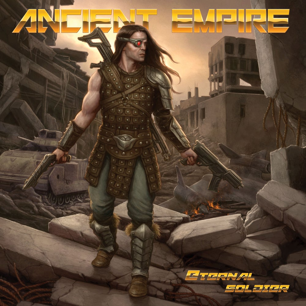 ANCIENT EMPIRE - Eternal Soldier CD