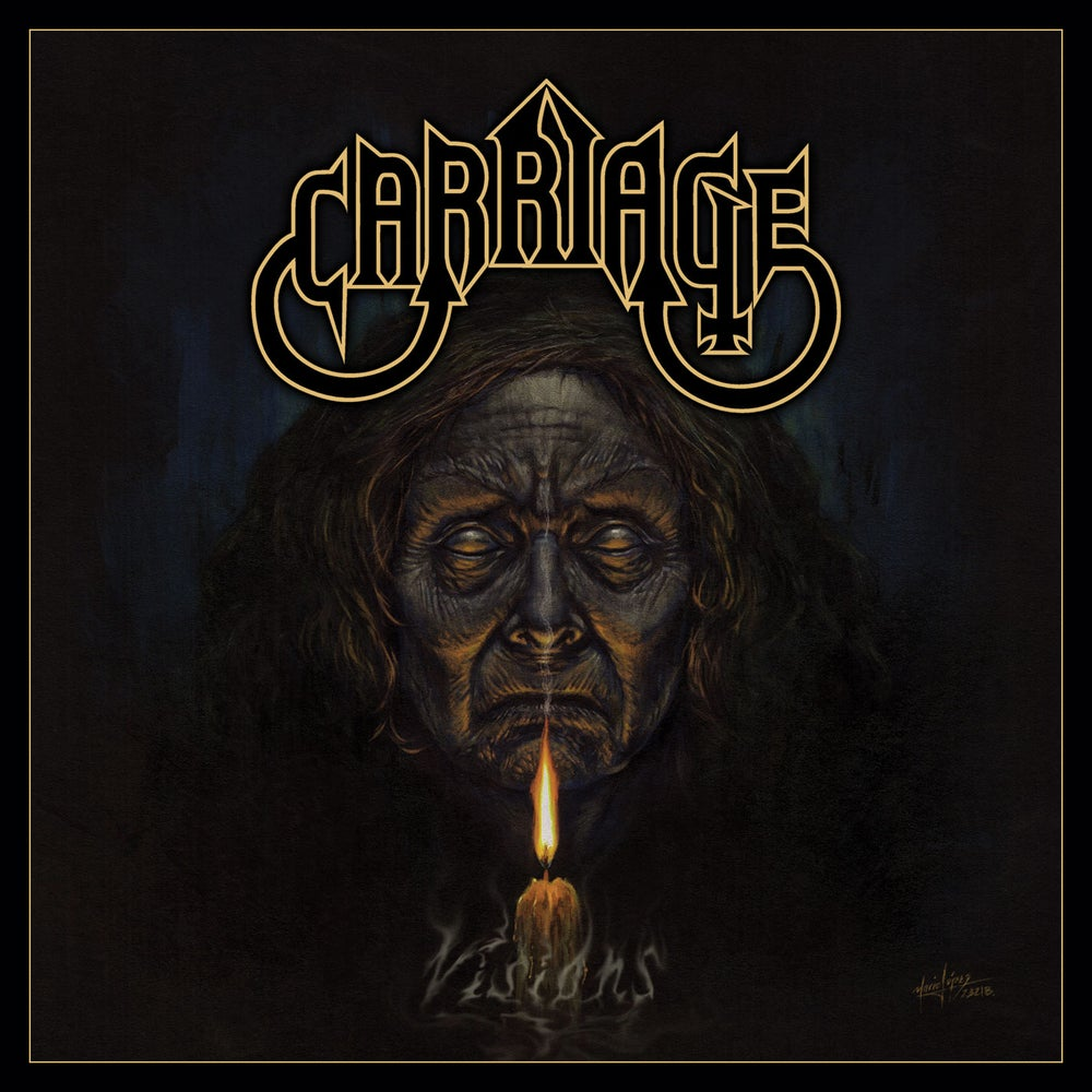 CARRIAGE - Visions CD