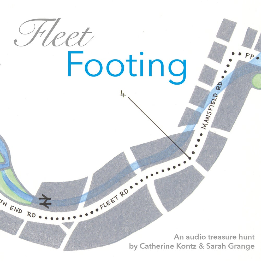 Image of Fleet Footing - An audio treasure hunt