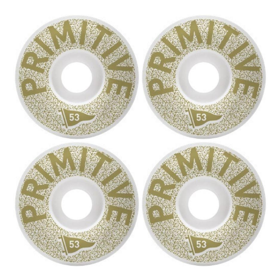 Image of Primitive Channel Zero Team wheels 53mm