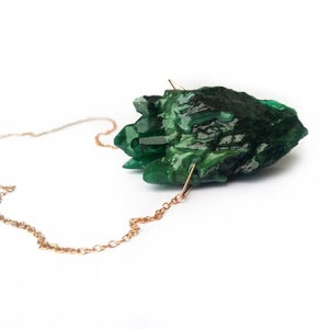 Image of HEARTSTONE PENDANT - Crystal Forest