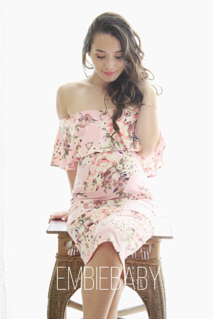 Image of Floral bodycon