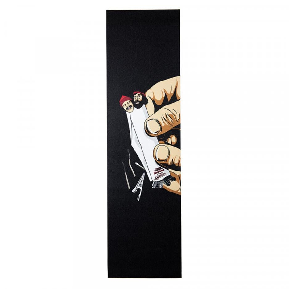 Image of Primitive Cheech and Chong Rollin' grip tape sheet