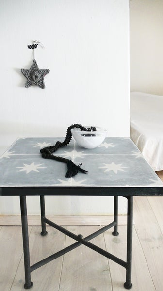 Image of Moroccan Tiles Side Table