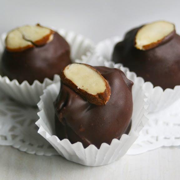 Image of Coffee Truffles - 9 in a window box