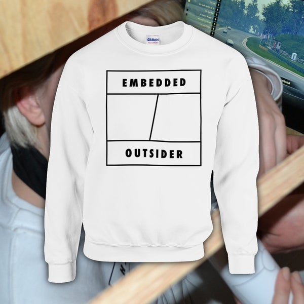 Image of EMBEDDED OUTSIDER SWEATER