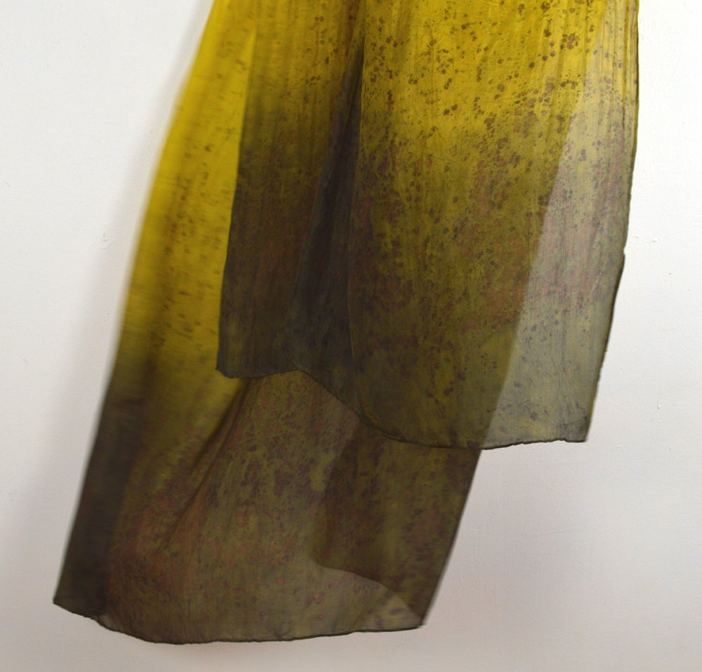 Image of Golden Seurat Shawl