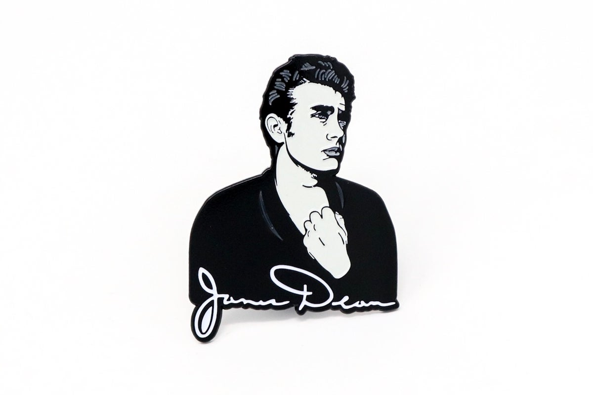 Image of James Dean Enamel Pin