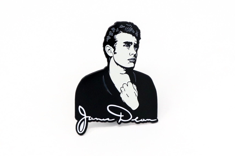 Image of James Dean Enamel Pin