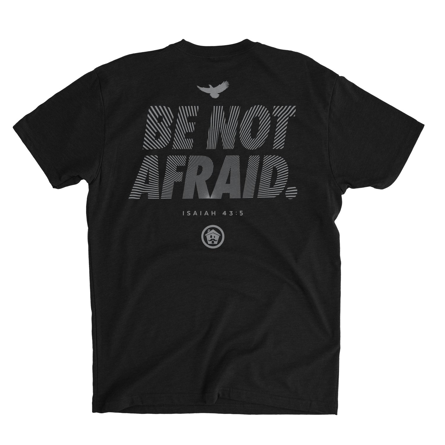 Image of Be Not Afraid (black)