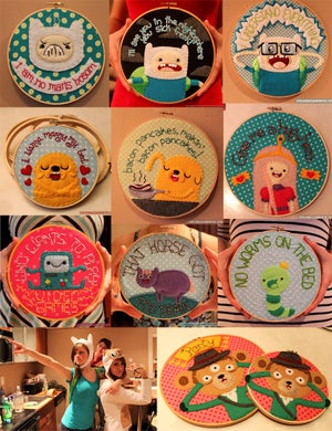 Image of Custom Embroidery Hoop