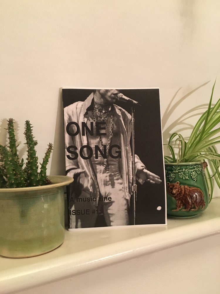 Image of One Song Zine