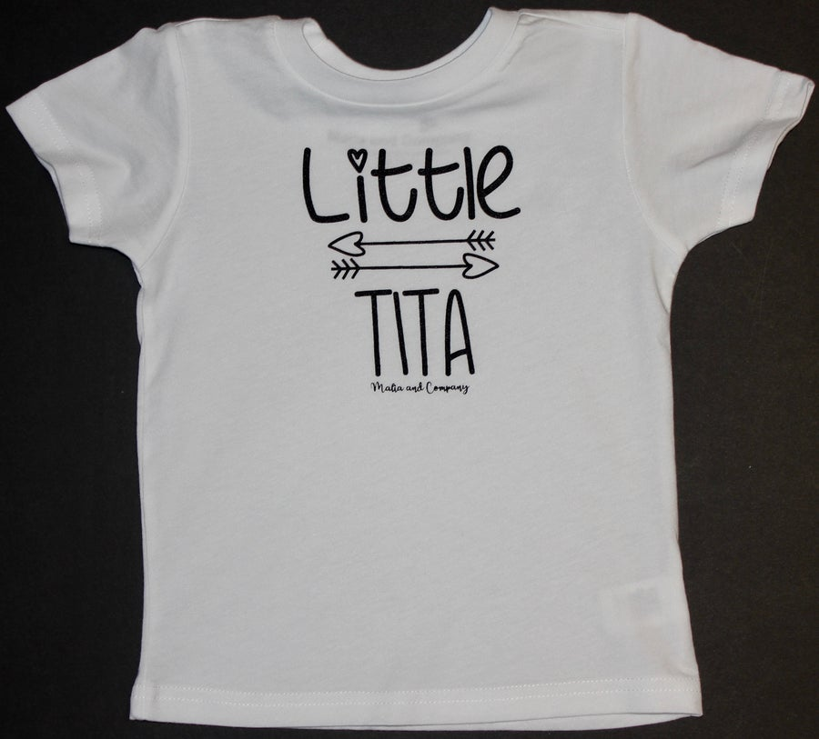 Image of Little Tita Collection-White