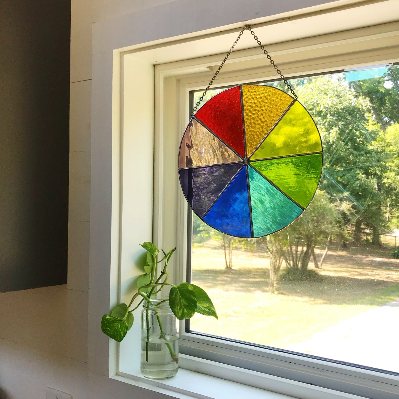 Image of wheel (rainbow)