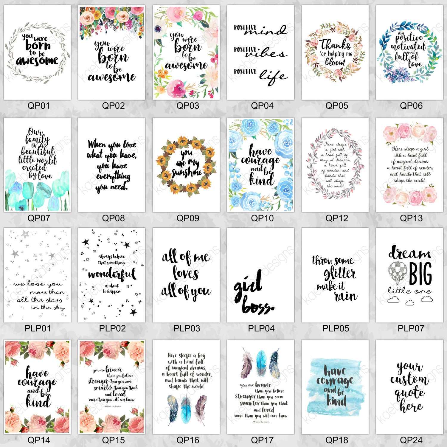 Image of Quote Prints