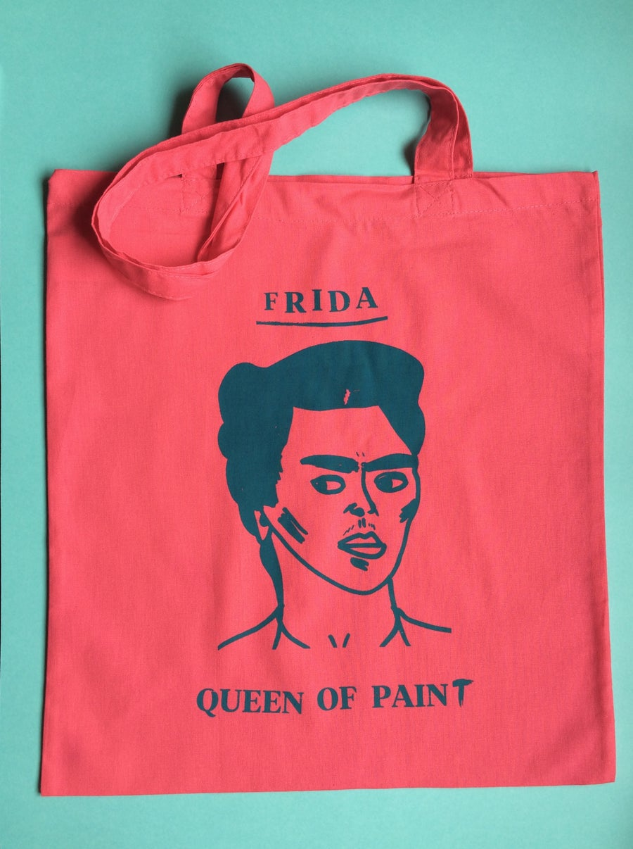 Image of Frida Queen of Paint Tote