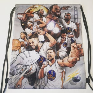 "Image of ""DATW2"" DRAWSTRING BAG"