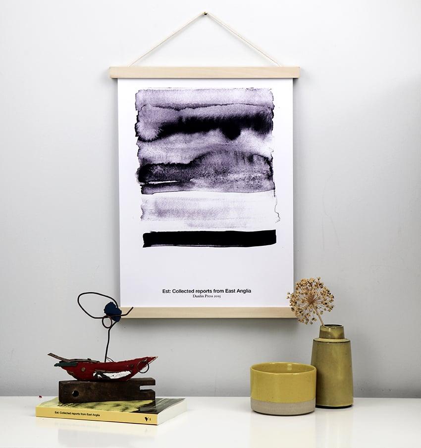Image of Est, landscape I, limited edition poster