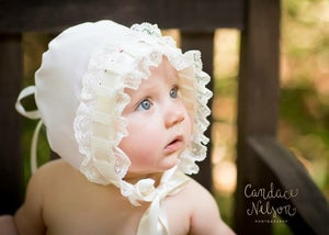 Image of The Gwendolyn Heirloom Bonnet