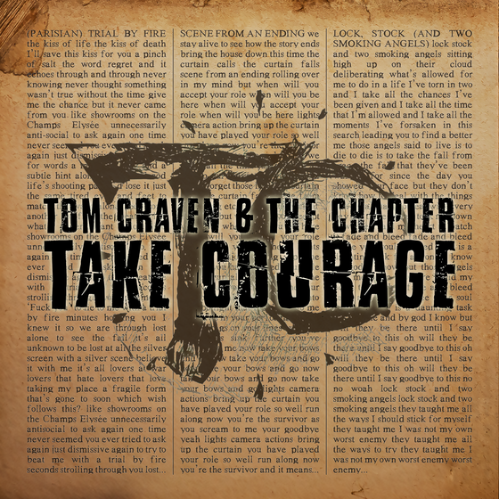 Image of Tom Craven & The Chapter - Take Courage (2018) - CD EP
