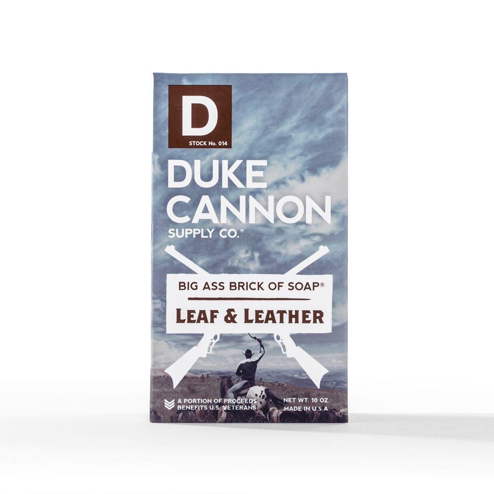 Image of Duke Cannon Leaf & Leather Soap