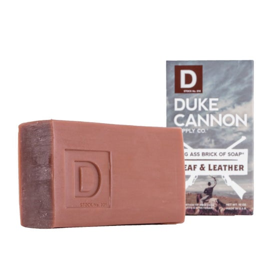 Image of Duke Cannon Leaf & Leather Soap