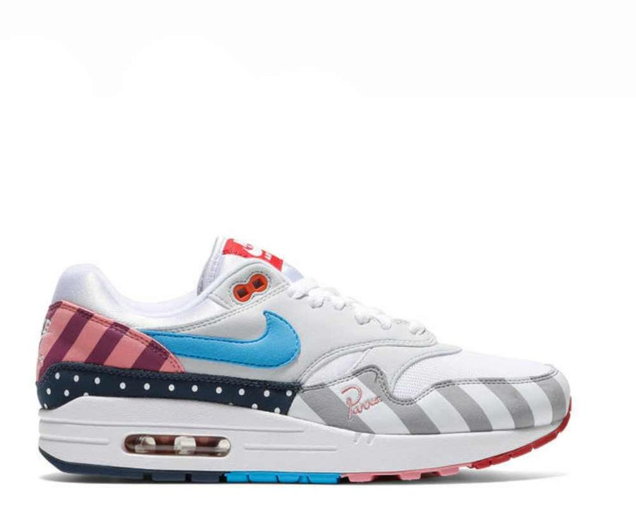 Image of PARRA X NIKE AIR MAX 1 WHITE MULTI AT3057-100