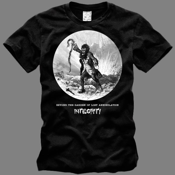 """Image of INTEGRITY """"Beyond The Garden Of Lost Annihilation"""" limited edition T-shirt - 24 hour exclusive offer"""