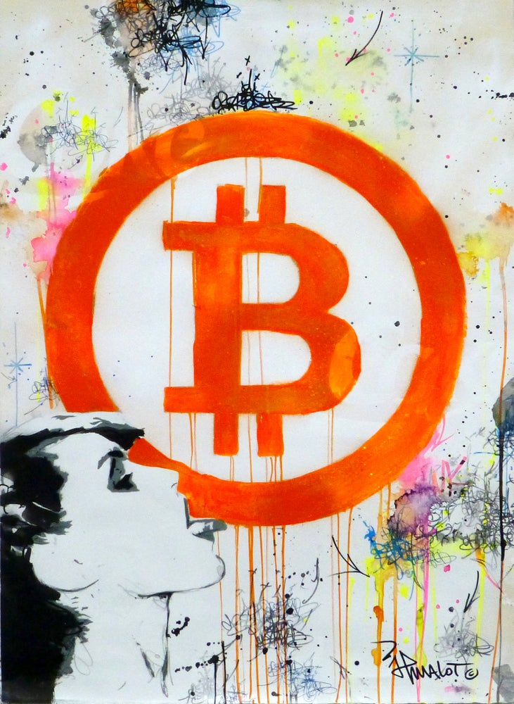 Image of Blondie Bitcoin! 2018