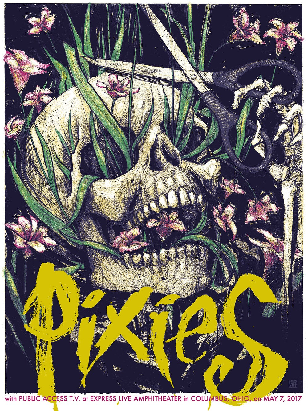 Image of PIXIES w/ PUBLIC ACCESS TV - Columbus, OH