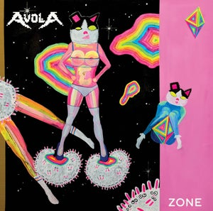 "Image of Avola ""Zone"" LP  (special edition colored/glow-in-the-dark vinyl)"