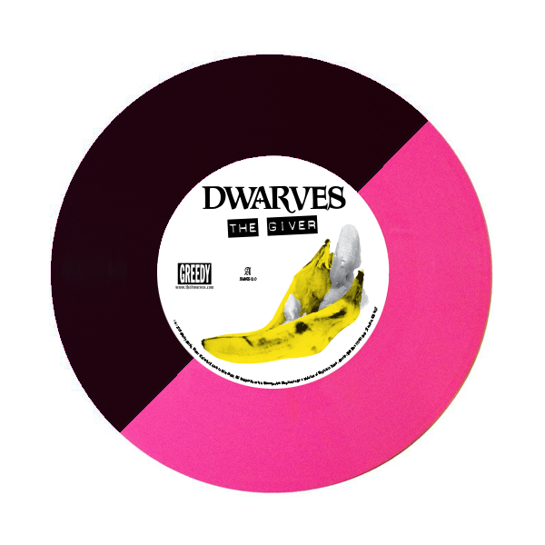 "Image of Dwarves / Surfbort - Split 7"" The Giver b/w Fetus (Deluxe Edition)"