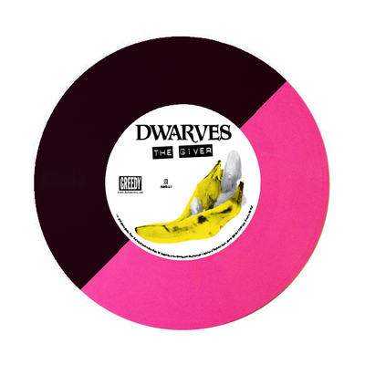 "Image of Dwarves / Surfbort - The Giver b/w Fetus Split 7"" (Deluxe Edition)"