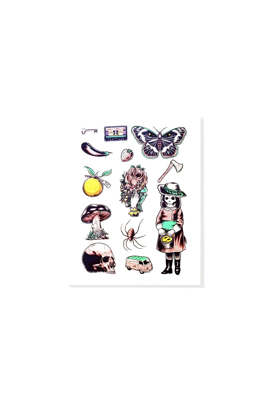 Image of WEIRD STUFF FLASH SHEET