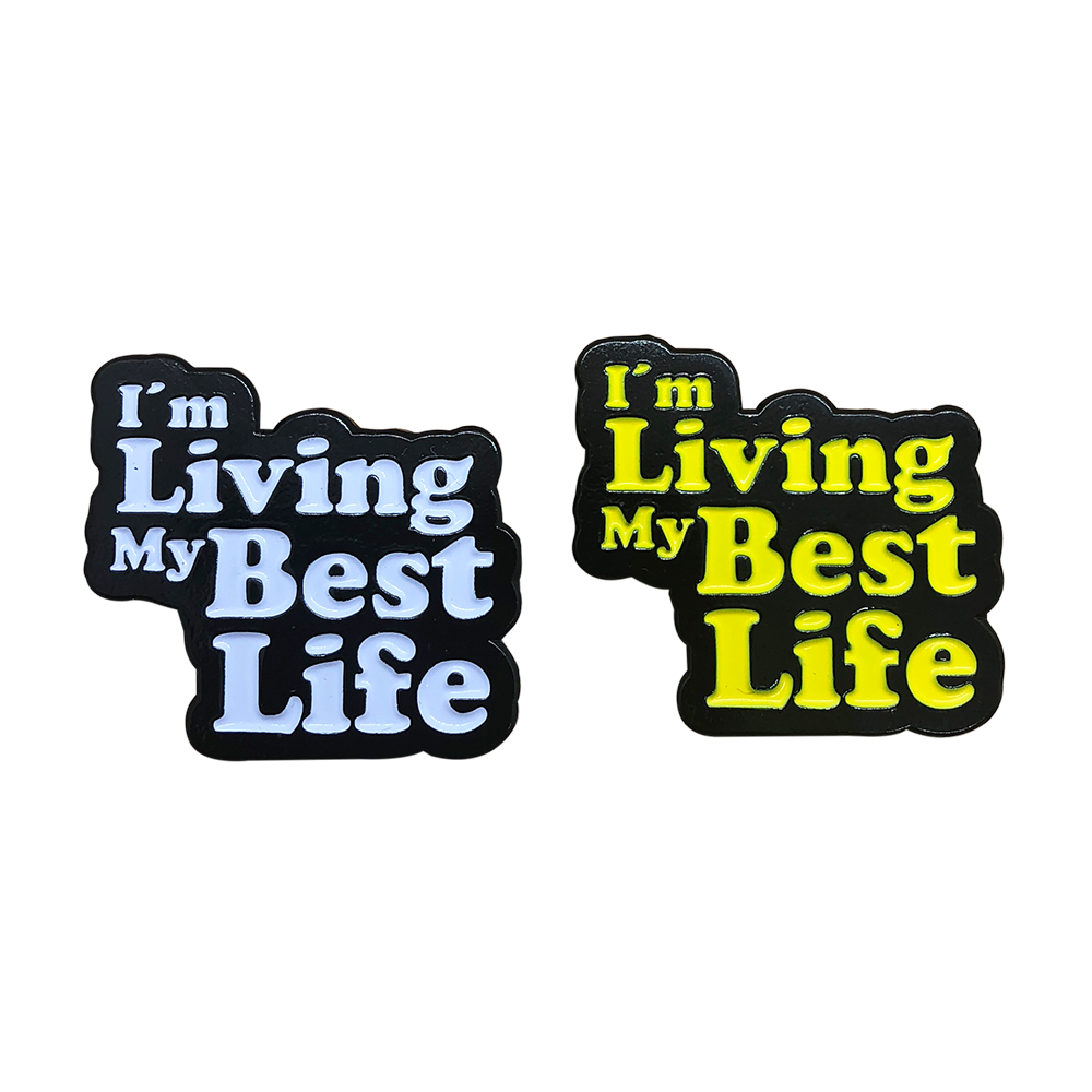 Image of Best Life Pin
