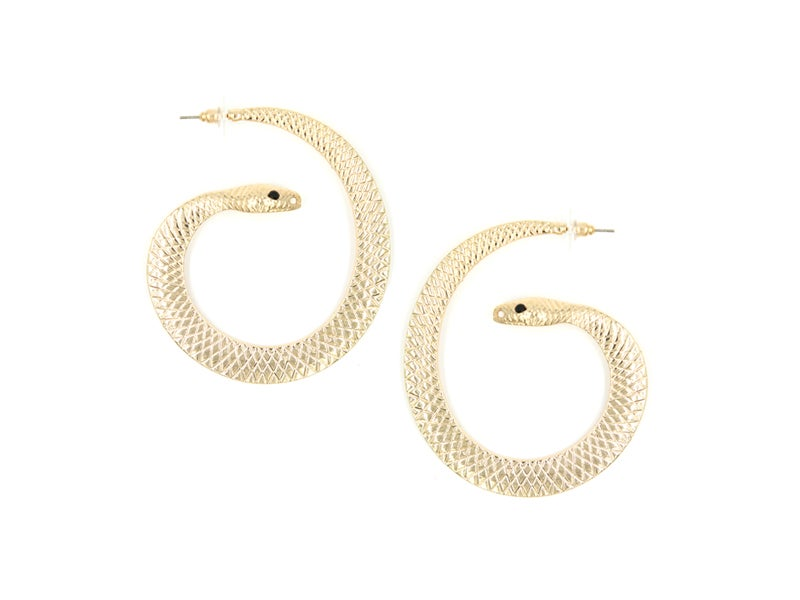Image of Sneaky Snake Hoops