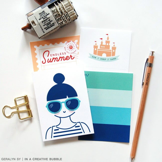 Image of Beach Bound Journaling Cards (Digital)