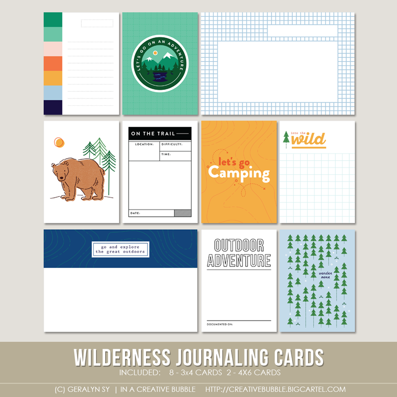 Image of Wilderness Journaling Cards (Digital)