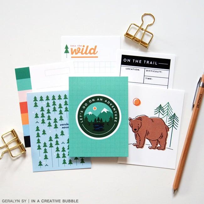 Image of Wilderness Journaling Cards (Digital)