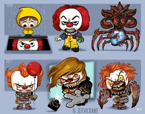 Image of Evolution of Pennywise