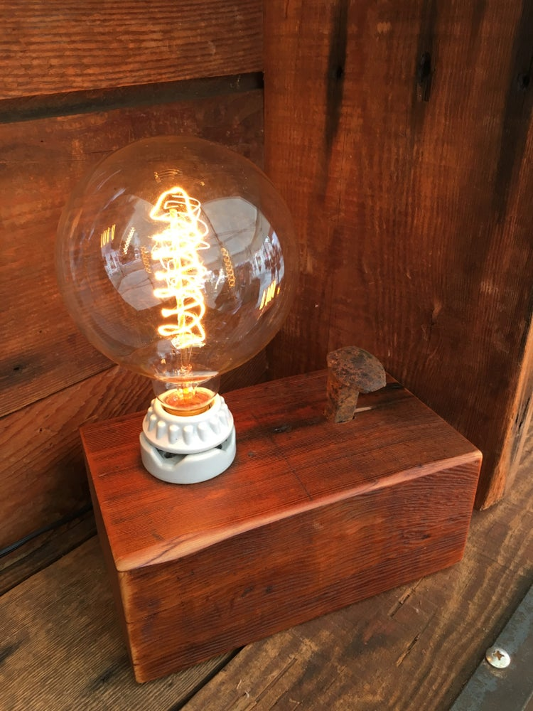 Image of Single Bulb Lamp