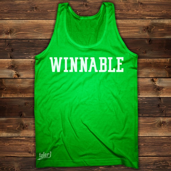 Image of Winnable Tank - Lime