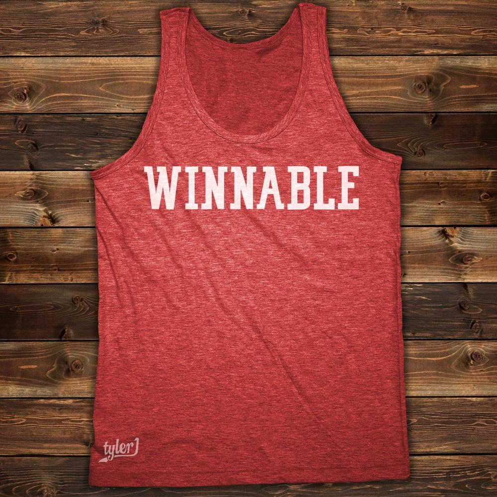 Winnable Tank - Vintage Red