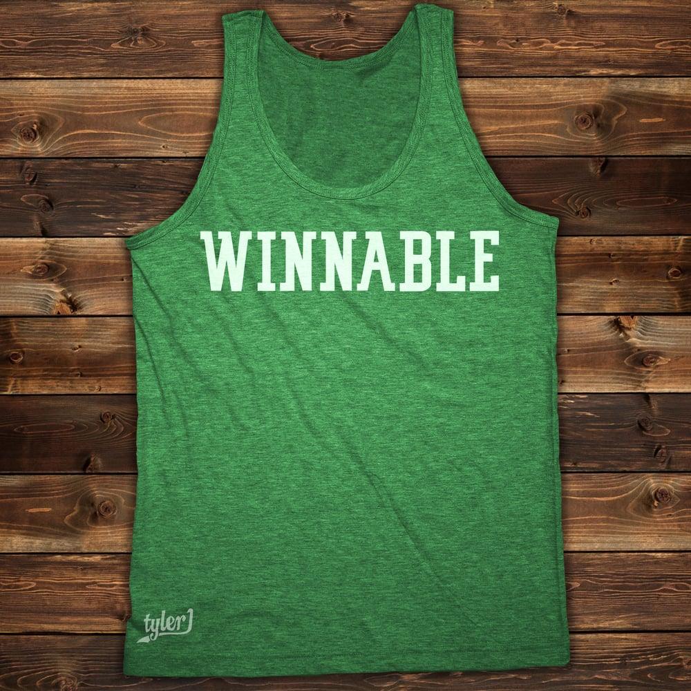 Image of Winnable Tank - Vintage Green