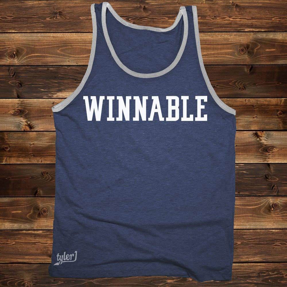 Image of Winnable Tank - Blue|Gray