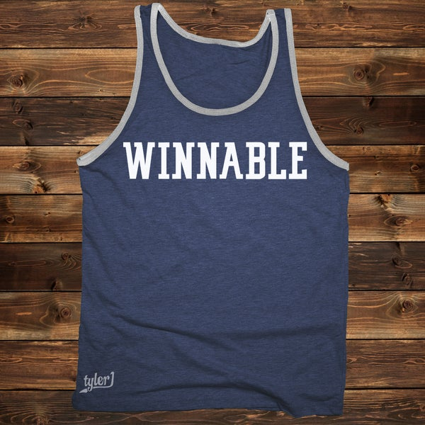 Image of Winnable Tank - Blue|Gray
