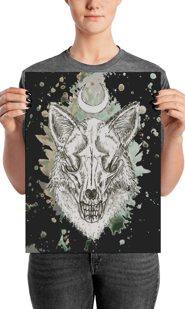 Image of RED FOX POSTER