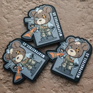 Image of CABLE Tactical Teddy Morale Patch