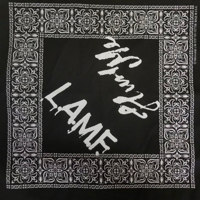 Image of L.A.M.F. BLACK Bandanna