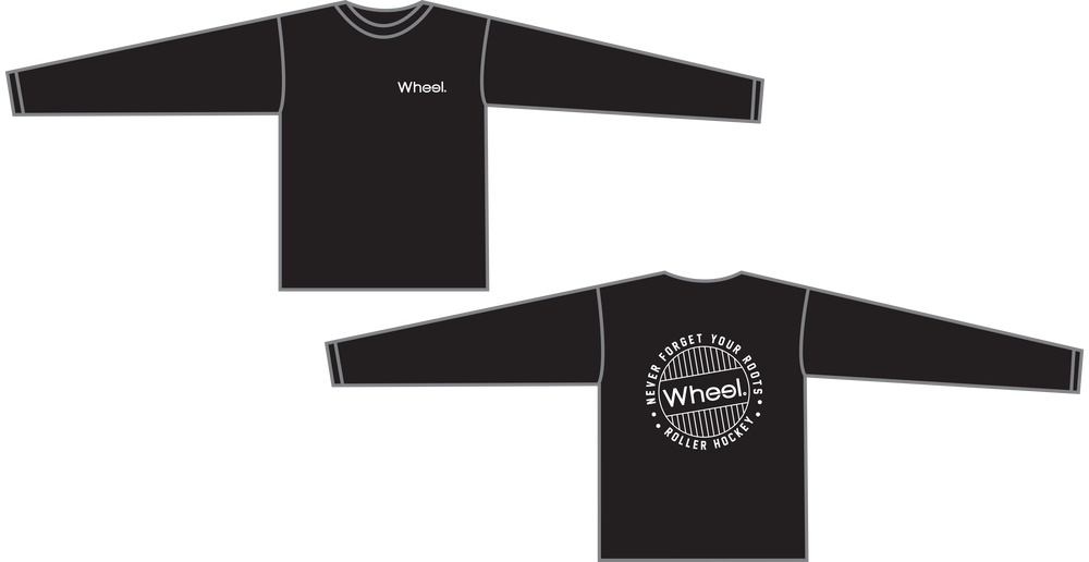 Image of Roots Long Sleeve Tee - Black